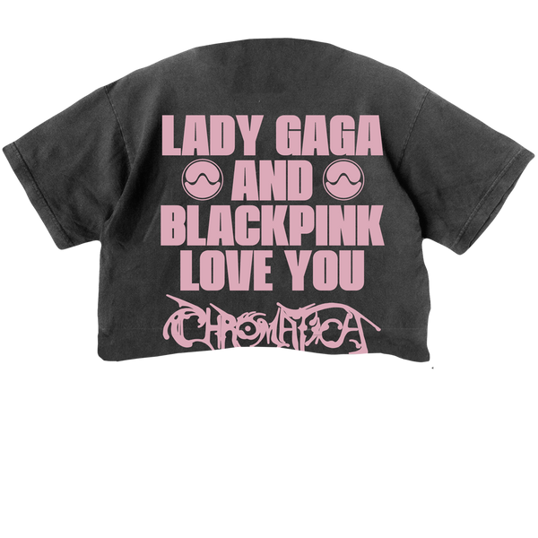 T-SHIRT | CROP TOP BLACKPINK x LADY GAGA II