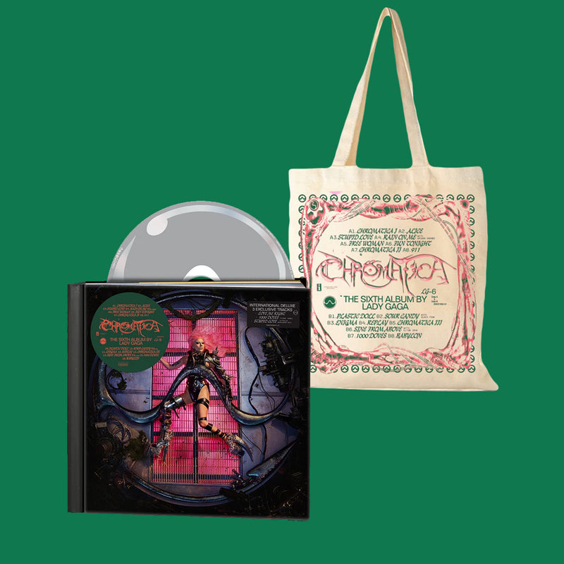PACK CD DELUXE + TOTEBAG CHROMATICA