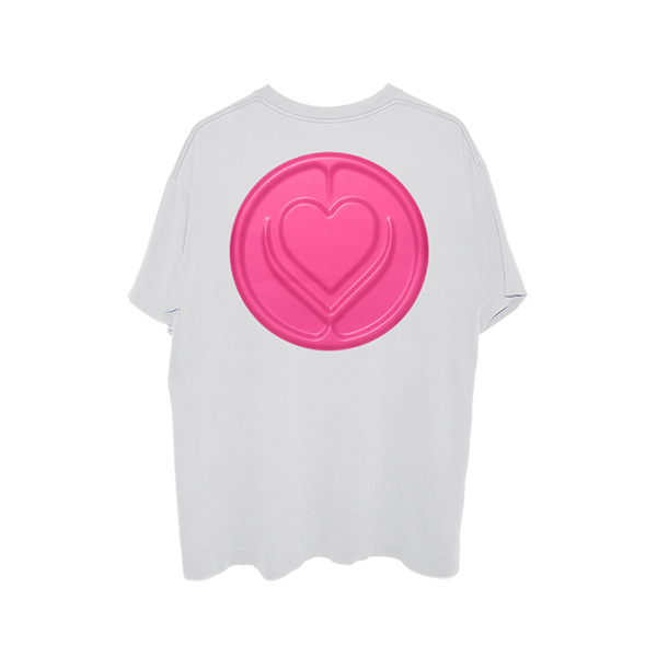 T-shirt | T-shirt blanc Stupid Love Lady Gaga