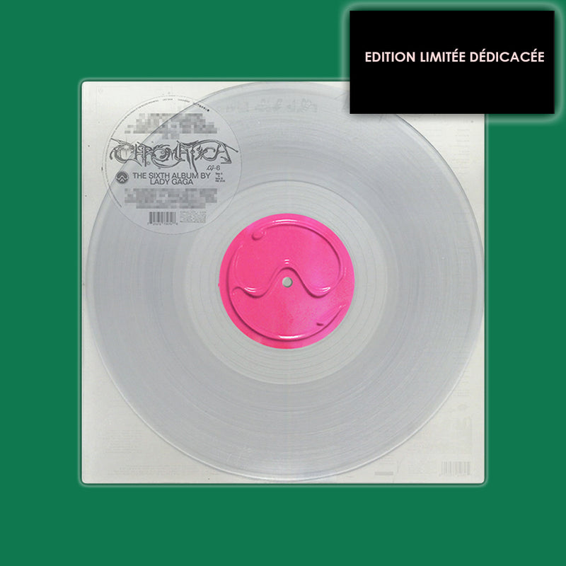 VINYLE COULEUR TRANSPARENT DÉDICACÉ EXCLUSIF | CHROMATICA