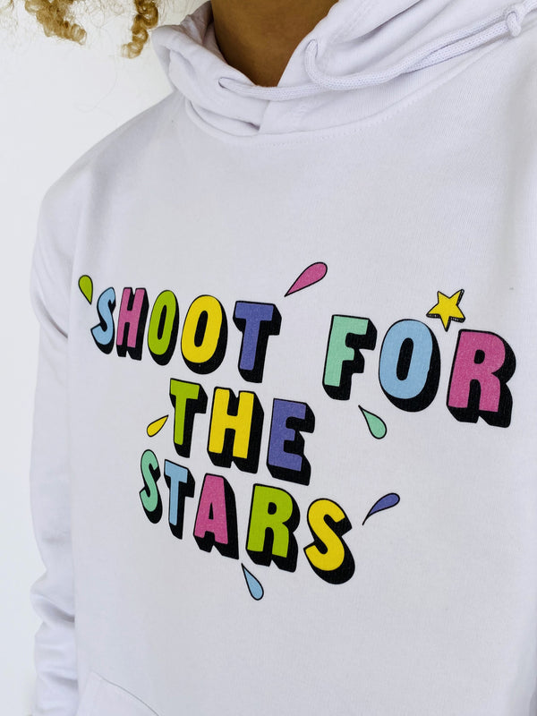 Hoodie Shoot for the Stars