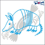 "ARMADILLO  6""  DECAL"