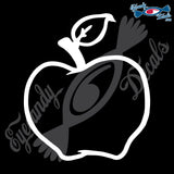 "APPLE 5"" DECAL"