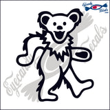 "DANCING BEAR  6""  DECAL"