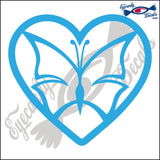 "BUTTERFLY 6""  DECAL"