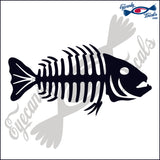 "BONE FISH 3  6""  DECAL"