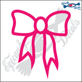 "BOW TIED 5"" DECAL"