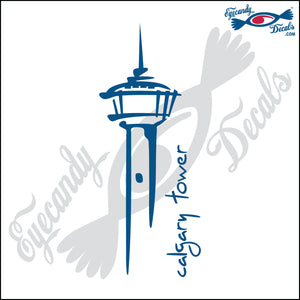 "CANADA CALGARY TOWER  6""  DECAL"
