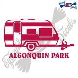 CANADA CAMPER WITH ALGONQUIN PARK 6 INCH  DECAL
