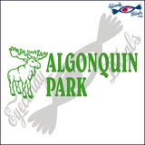 CANADA MOOSE AND ALGONQUIN PARK 6 INCH  DECAL