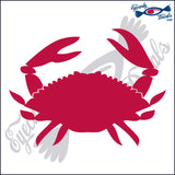 "CRAB 2   6""  DECAL"