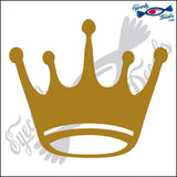 "CROWN #1 6""  DECAL"