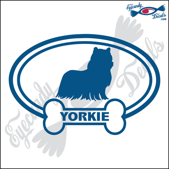 DOG BONE EURO WITH YORKIE  5