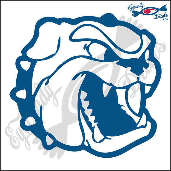 BULLDOG DOG HEAD  5