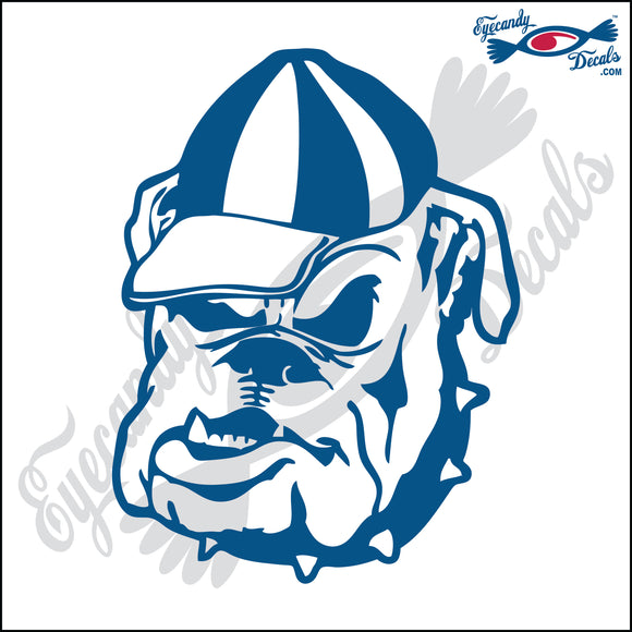 BULLDOG WITH CAP DOG HEAD  5