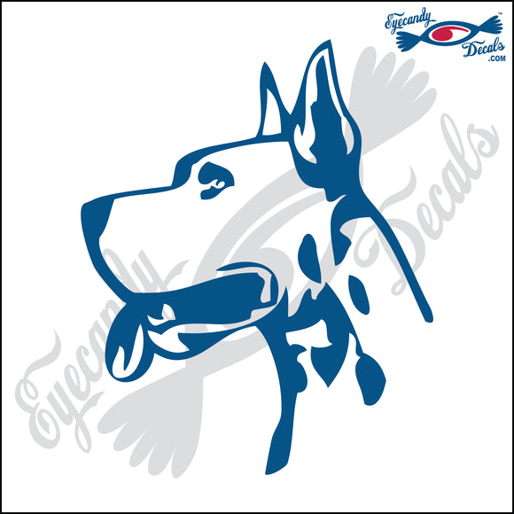 GREAT DANE DOG HEAD  5