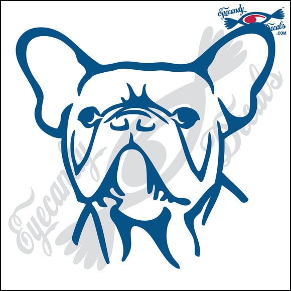 FRENCH BULLDOG DOG HEAD  5
