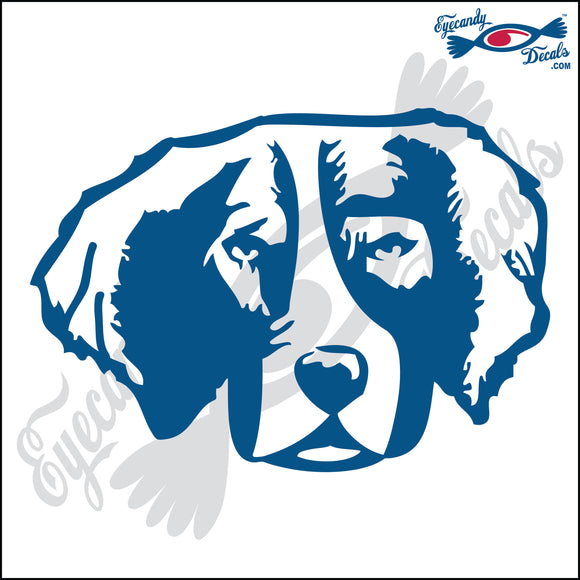BRITTANY DOG HEAD  5