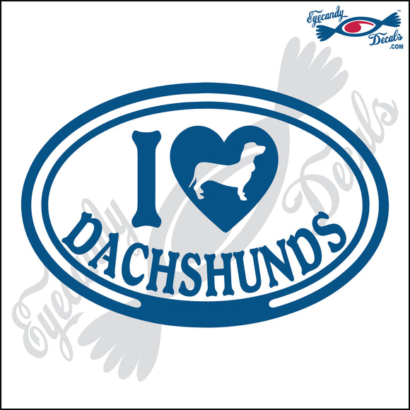 I LOVE DACHSHUNDS  5