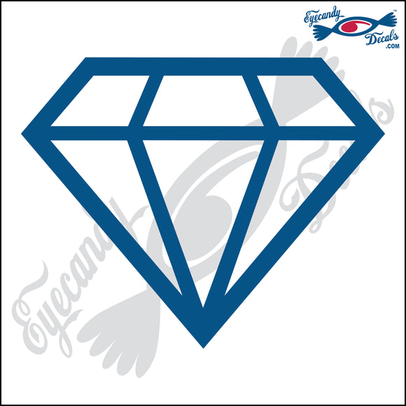 DIAMOND 5 INCH  DECAL