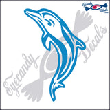 "DOLPHIN 1   6""  DECAL"