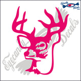 "DEER HEAD 10  6""  DECAL"