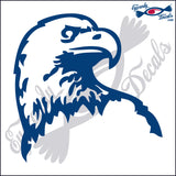 "EAGLE HEAD   5""  DECAL"