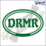 DRMR in OVAL   5 INCH  DECAL
