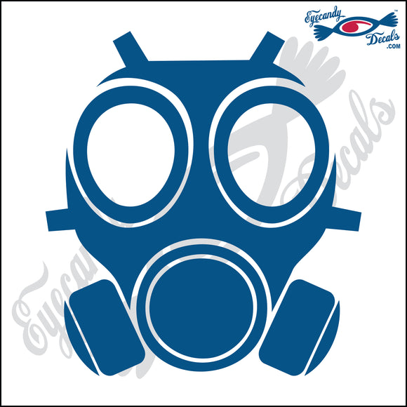 GASMASK 6 INCH  DECAL