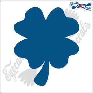 "FOUR LEAF CLOVER 6"" DECAL"