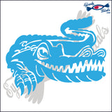 "ALLIGATOR 3 - GATOR WALKING  6""  DECAL"