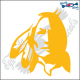 "INDIAN HEAD 6"" DECAL"