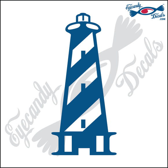 CAPE HATTERAS NORTH CAROLINA LIGHTHOUSE 6 INCH  DECAL