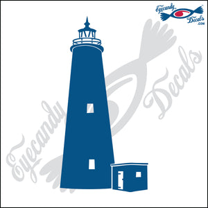 OCRACOKE NORTH CAROLINA LIGHTHOUSE 6 INCH  DECAL