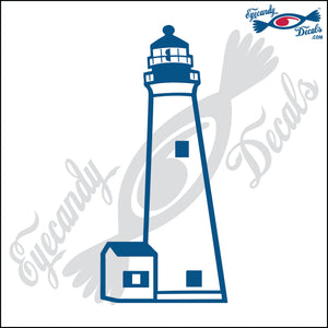 CAPE MAY NEW JERSEY LIGHTHOUSE 6 INCH  DECAL LIGHT