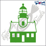 POINT LOMA CALIFORNIA LIGHTHOUSE 6 INCH  DECAL
