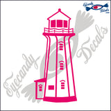PEGGYS COVE NOVA SCOTIA CANADA LIGHTHOUSE 6 INCH  DECAL