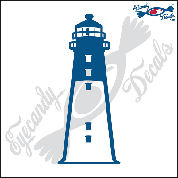 HUNTING ISLAND SOUTH CAROLINA LIGHTHOUSE 6 INCH  DECAL