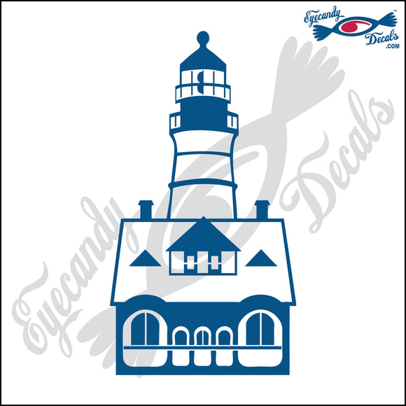 PORTLAND HEAD MAINE LIGHTHOUSE 6 INCH  DECAL