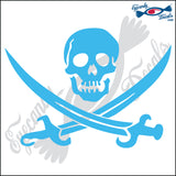 "JOLLY ROGER 6"" DECAL"