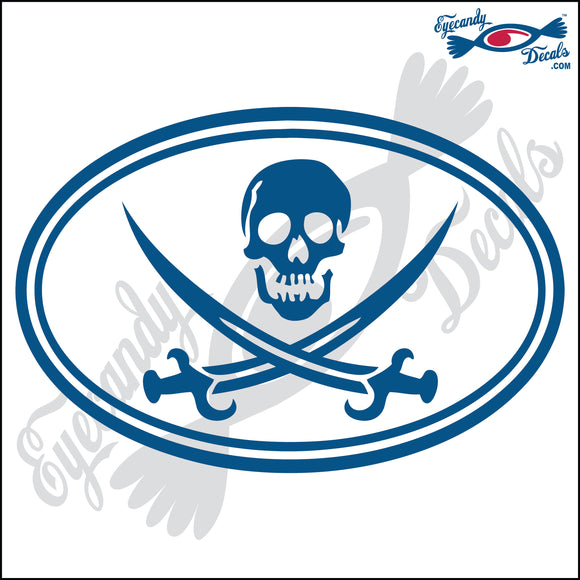 JOLLY ROGER IN OVAL 6