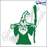 "WIZARD 6"" DECAL"