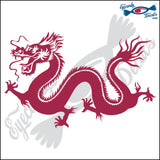 "DRAGON CHINESE STYLE 6"" DECAL"