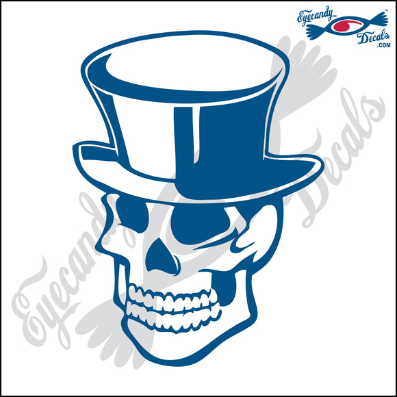 SKULL IN TOPHAT 6
