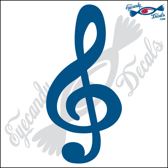TREBLE CLEF MUSIC NOTE 6