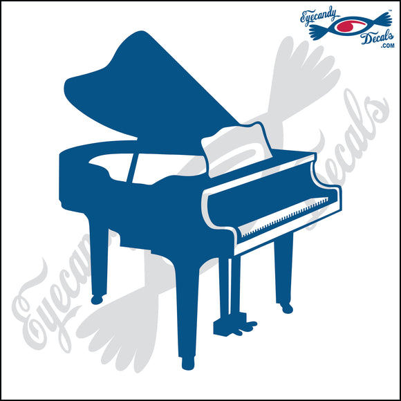 BABY GRAND PIANO 6 INCH  DECAL