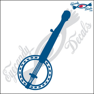 "BANJO 6"" DECAL"