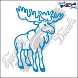 "MOOSE  5""  DECAL"