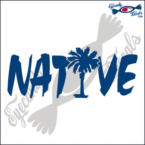 "NATIVE  6""  DECAL"