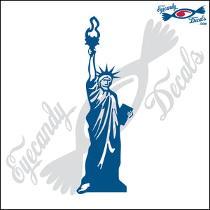 STATUE OF LIBERTY NEW YORK 6 INCH  DECAL
